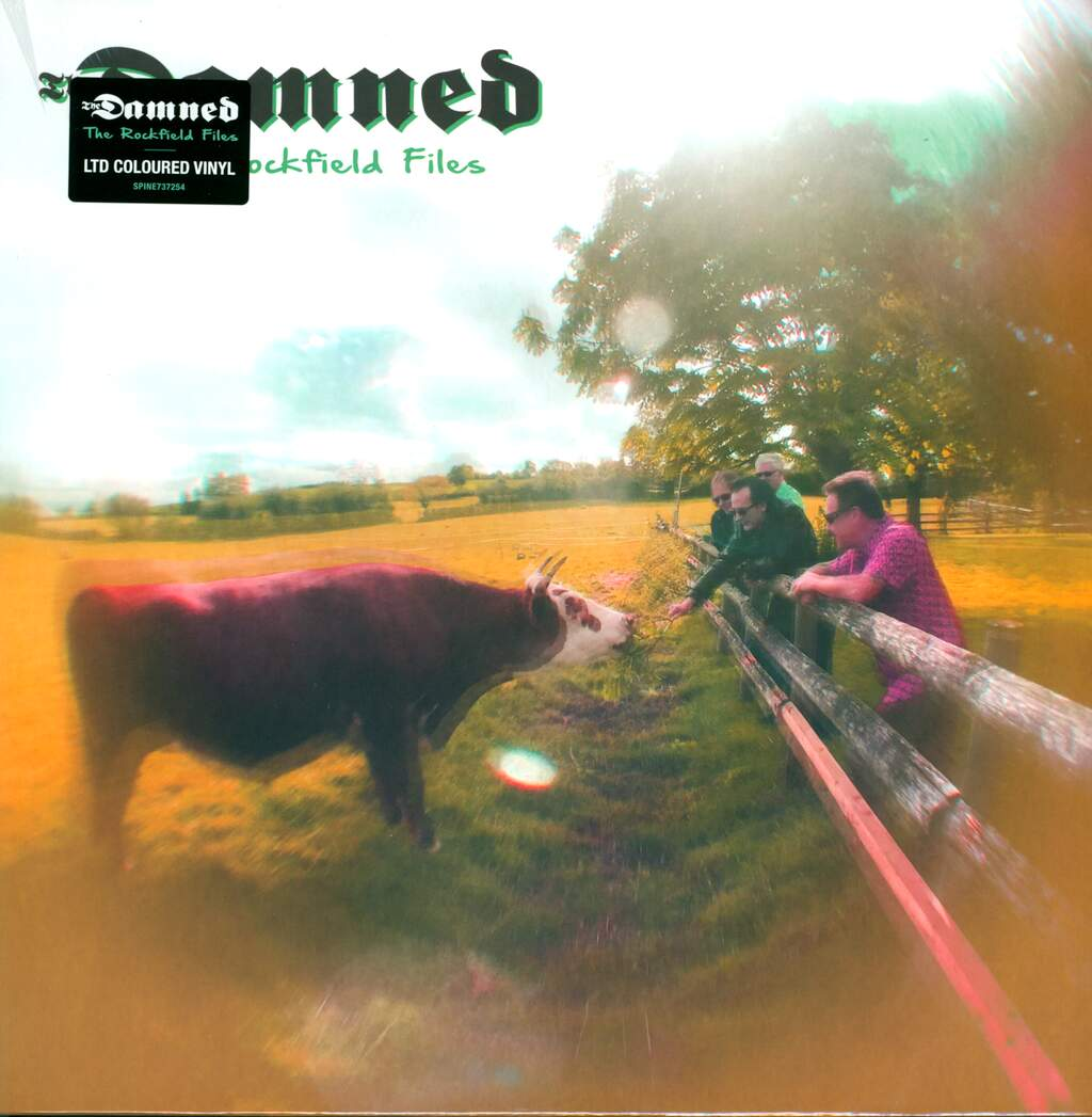 """The Damned: The Rockfield Files, 12"""" Maxi Single (Vinyl)"""