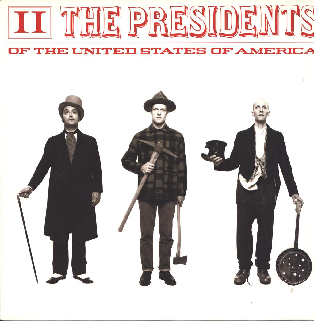 The Presidents Of The United States Of America: II, LP (Vinyl)