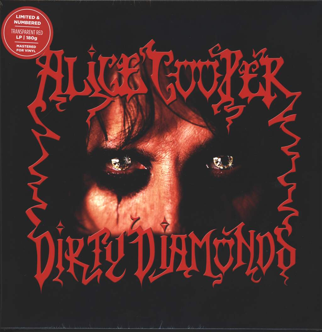 Alice Cooper: Dirty Diamonds, LP (Vinyl)