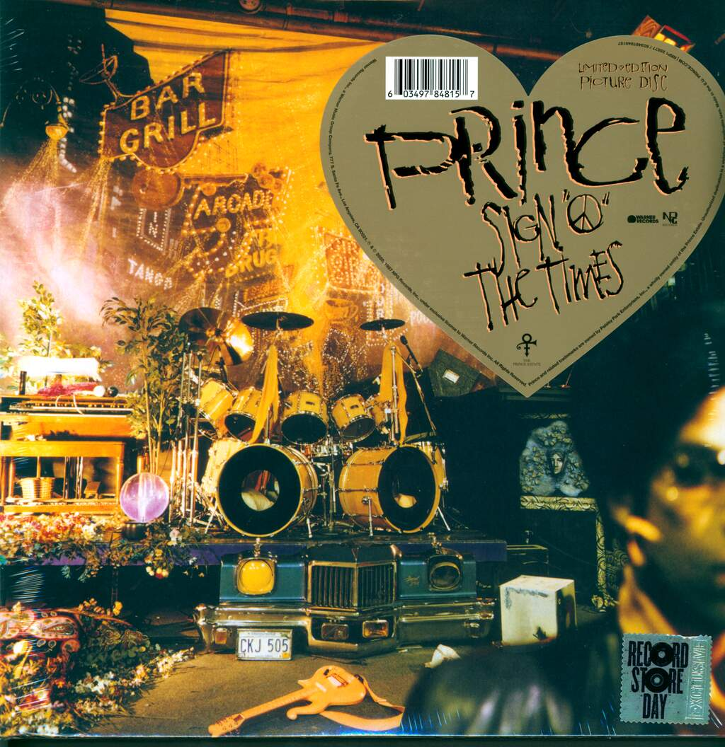 "Prince: Sign ""O"" The Times, 2×LP (Vinyl)"