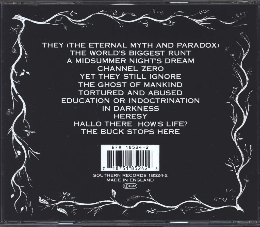 Antisect: In Darkness, There Is No Choice, CD