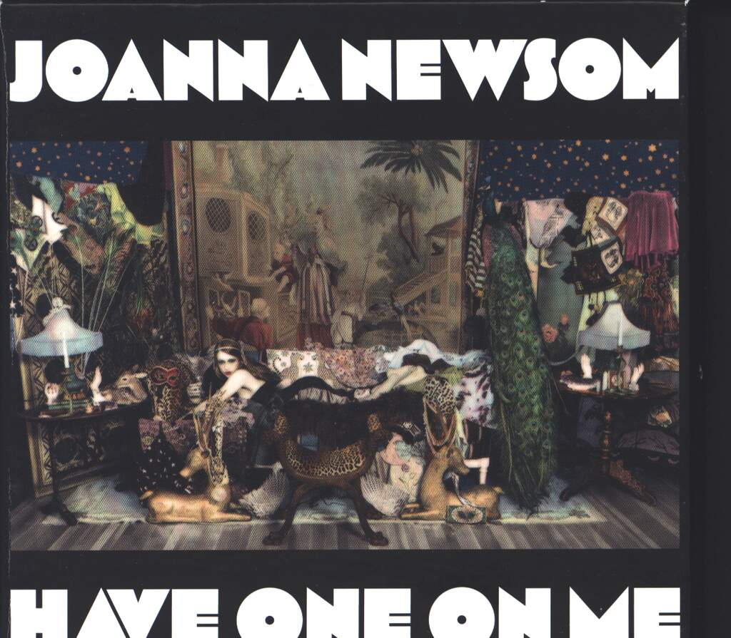Joanna Newsom: Have One On Me, 3×DVD