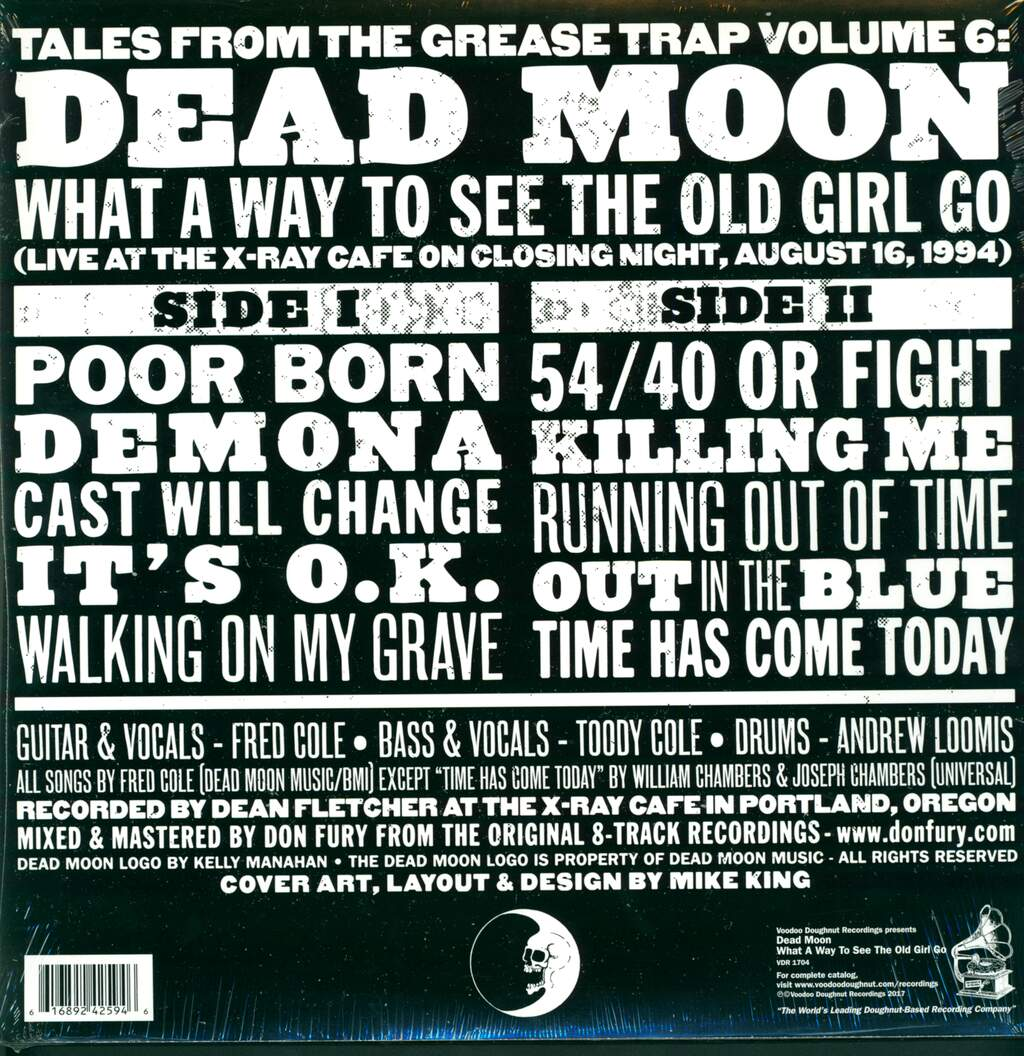 Dead Moon: What A Way To See The Old Girl Go, LP (Vinyl)