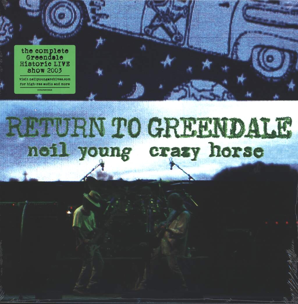 Neil Young & Crazy Horse: Return To Greendale, 2×LP (Vinyl)