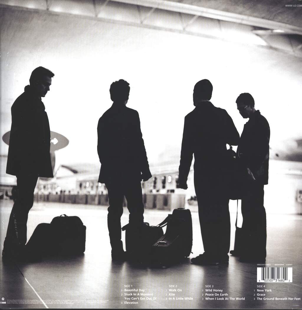 U2: All That You Can't Leave Behind, 2×LP (Vinyl)