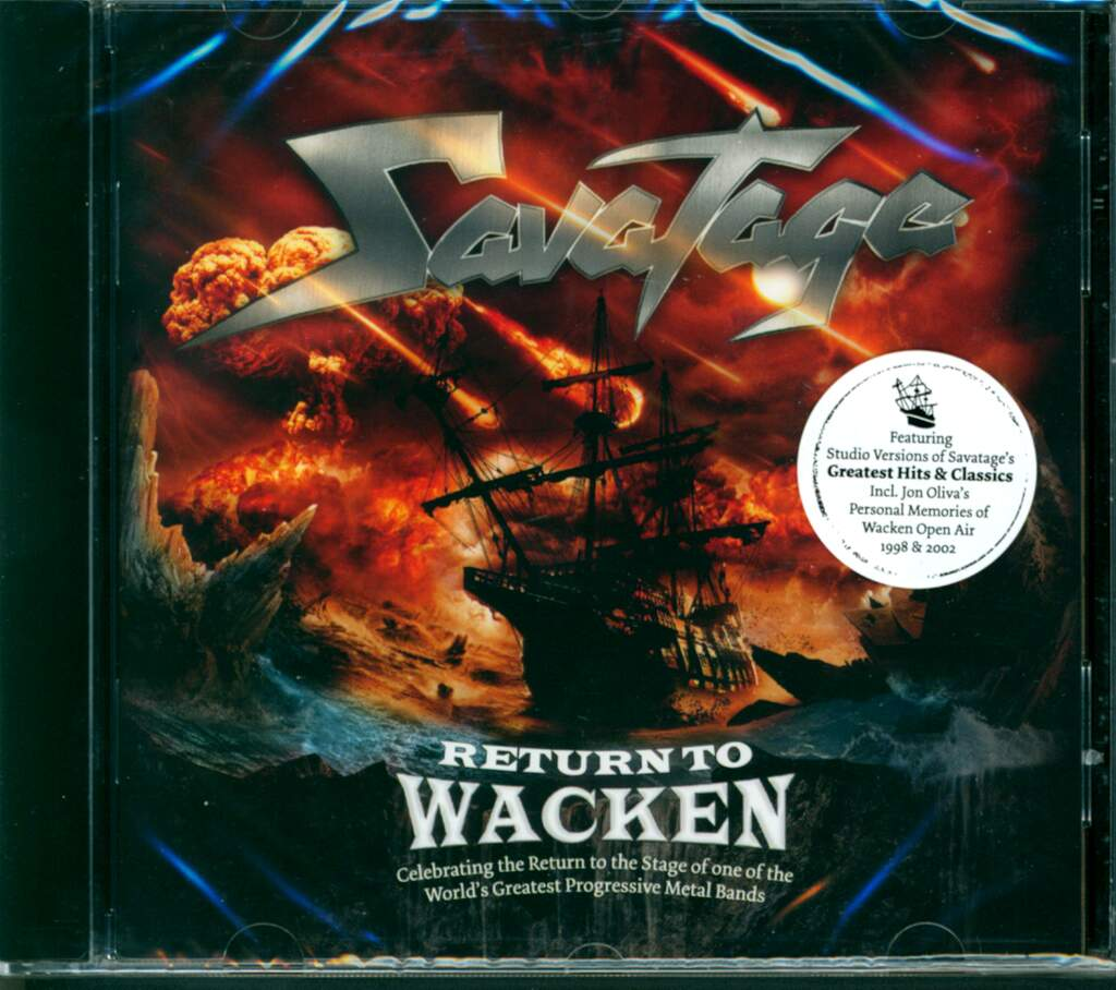 Savatage: Return To Wacken, CD