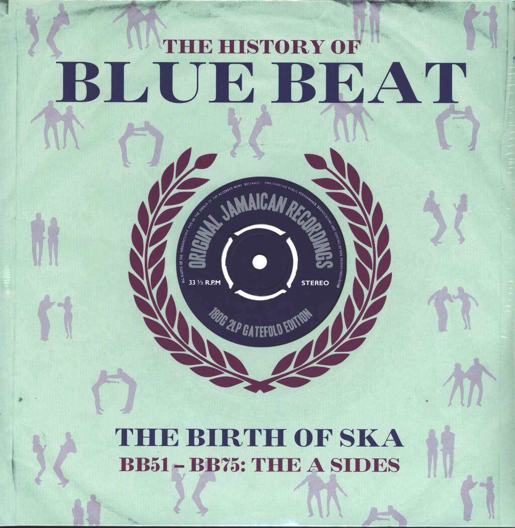 Various: The History Of Blue Beat - The Birth Of Ska BB51 - BB75 A Sides, 2×LP (Vinyl)