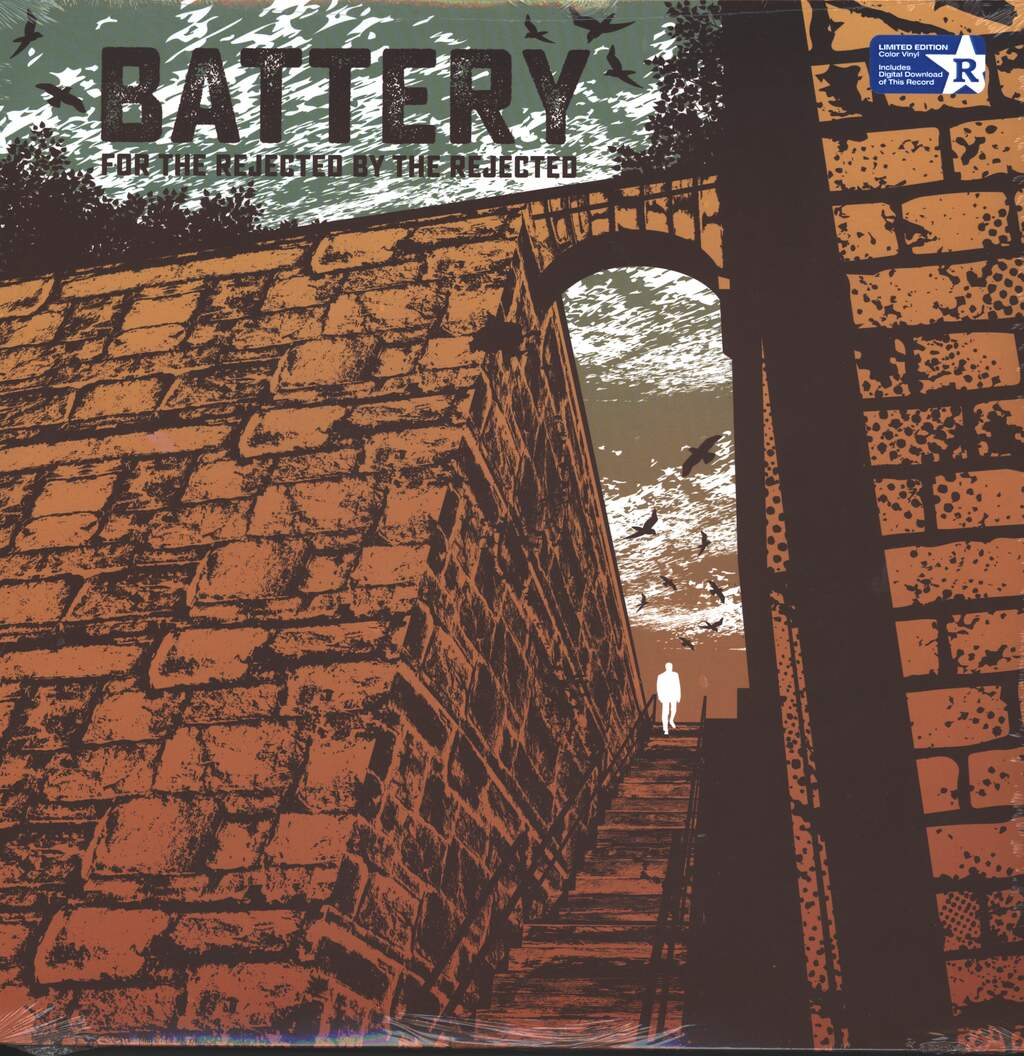 Battery: For The Rejected By The Rejected, LP (Vinyl)
