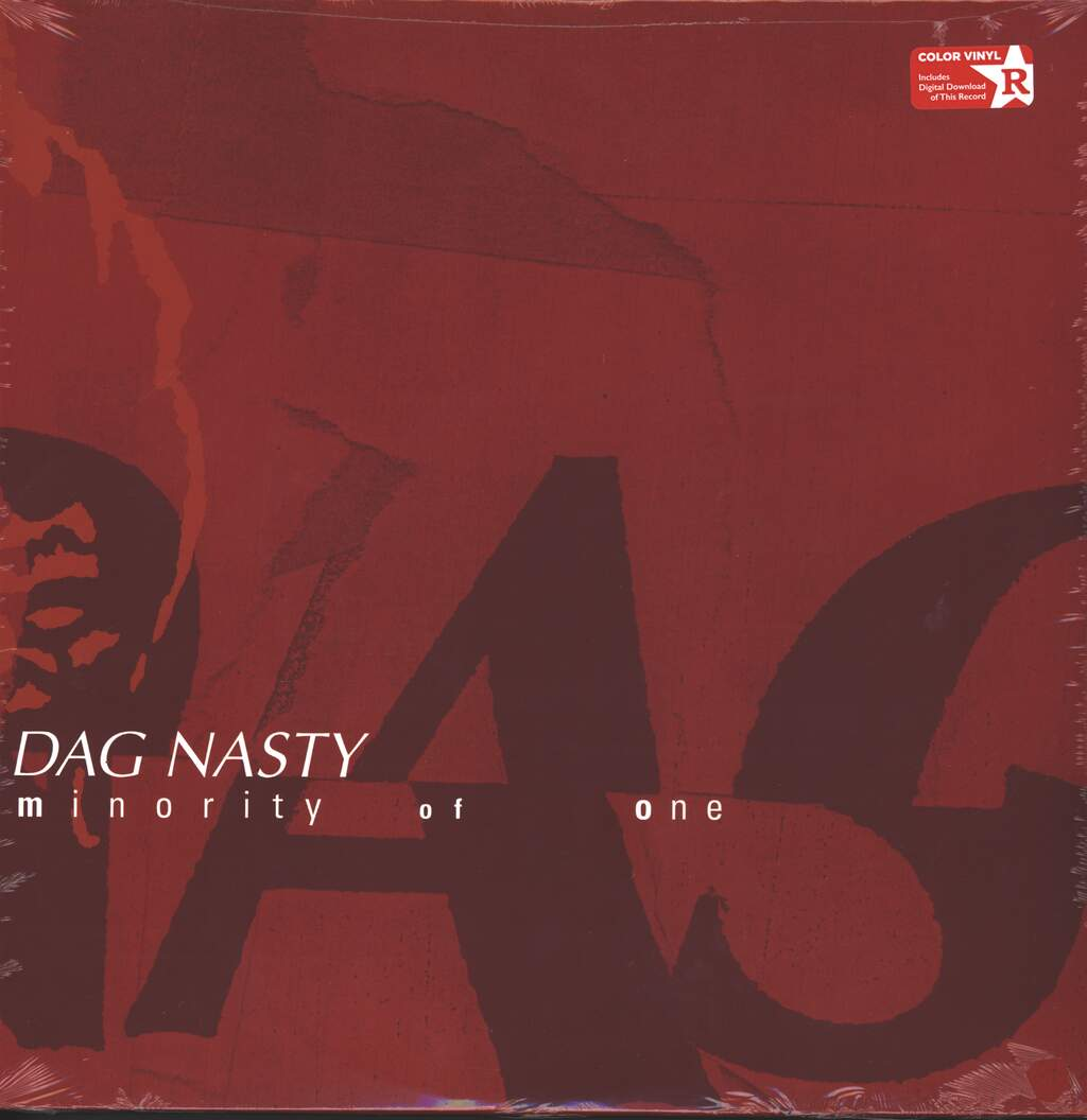 Dag Nasty: Minority Of One, LP (Vinyl)