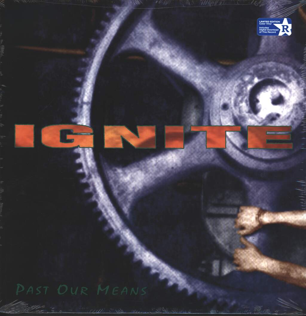 "Ignite: Past Our Means, 12"" Maxi Single (Vinyl)"