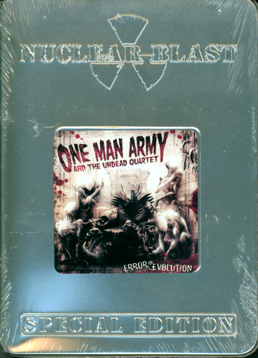 One Man Army And The Undead Quartet: Error In Evolution, CD