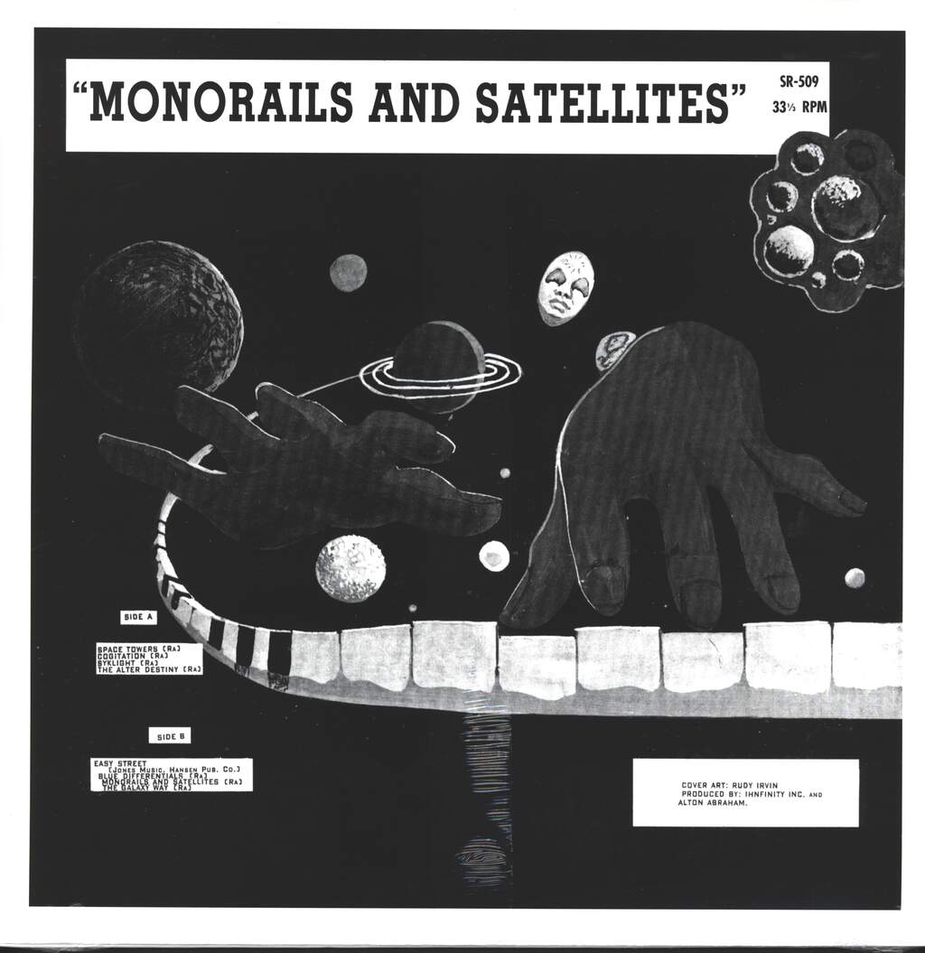 Sun Ra: Monorails And Satellites, LP (Vinyl)