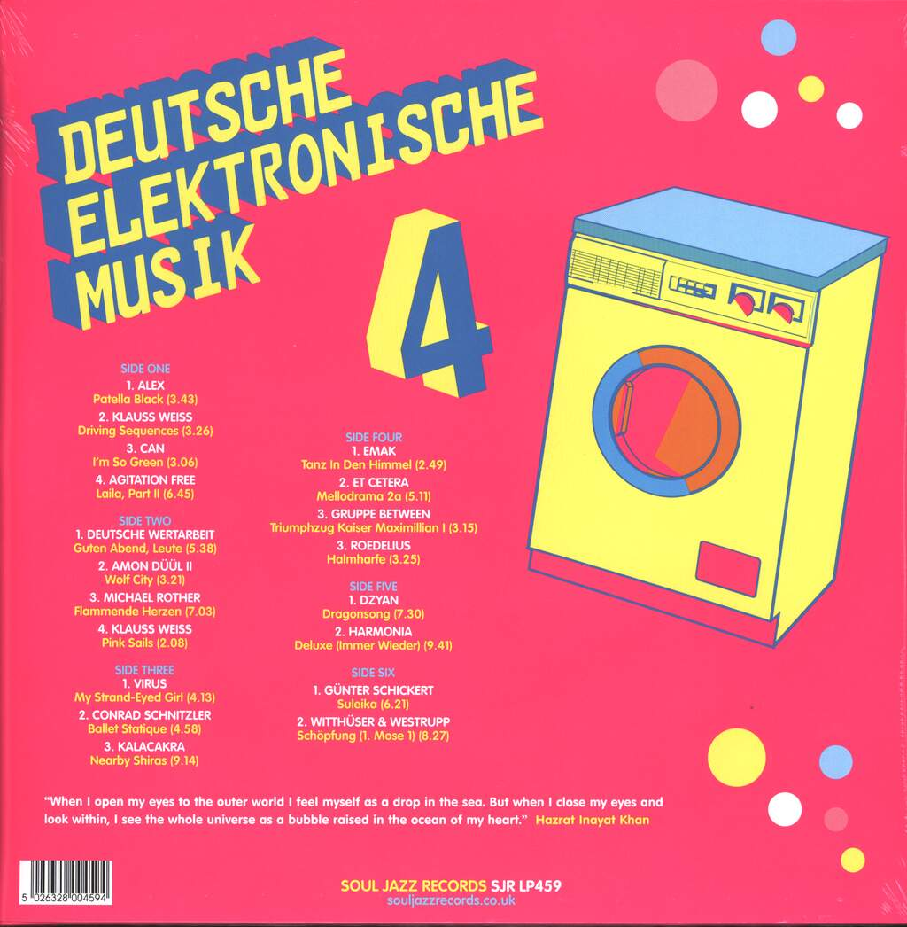 Various: Deutsche Elektronische Musik 4 (Experimental German Rock and Electronic Music 1971-83), 3×LP (Vinyl)