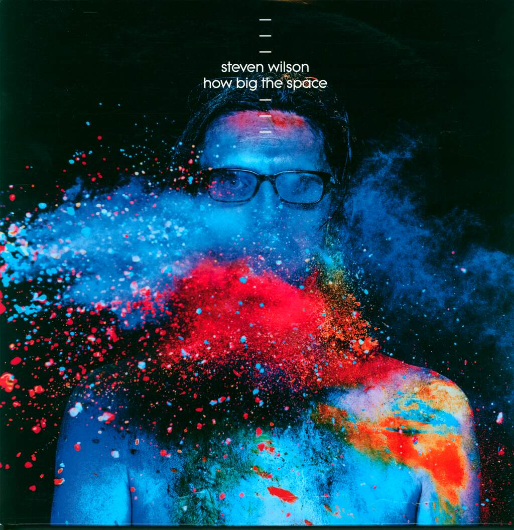 "Steven Wilson: How Big The Space, 12"" Maxi Single (Vinyl)"