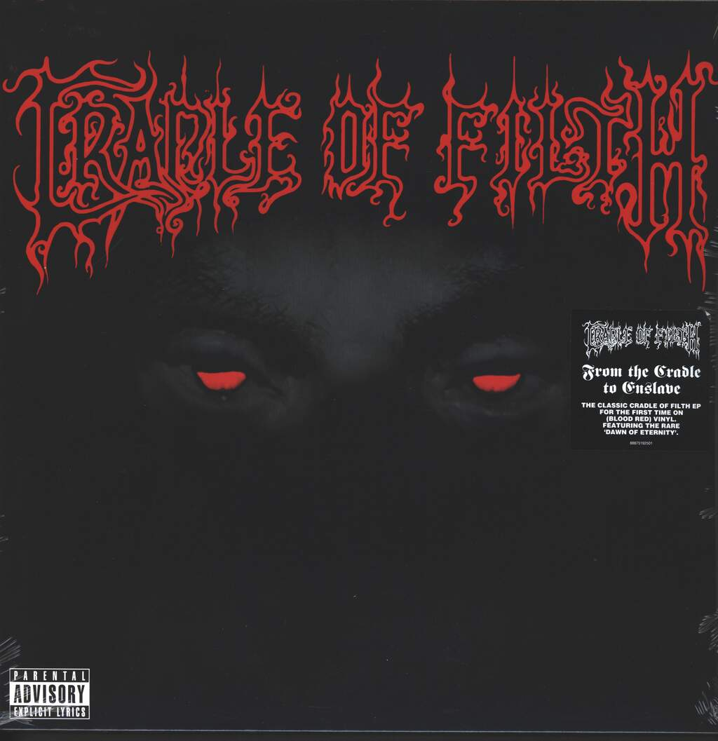 """Cradle Of Filth: From The Cradle To Enslave E.P., 12"""" Maxi Single (Vinyl)"""