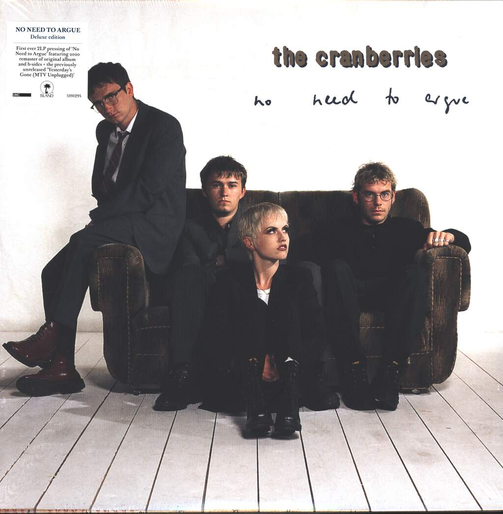 The Cranberries: No Need To Argue, 2×LP (Vinyl)