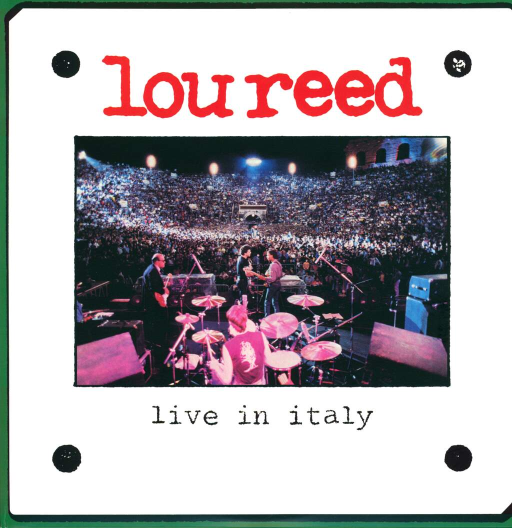 Lou Reed: Live In Italy, 2×LP (Vinyl)