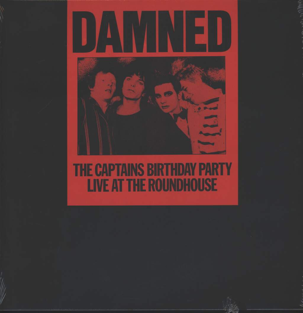 The Damned: The Captains Birthday Party - Live At The Roundhouse, LP (Vinyl)