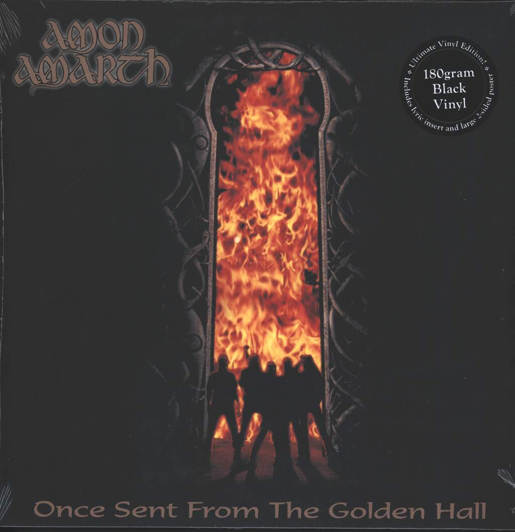 Amon Amarth: Once Sent From The Golden Hall, LP (Vinyl)
