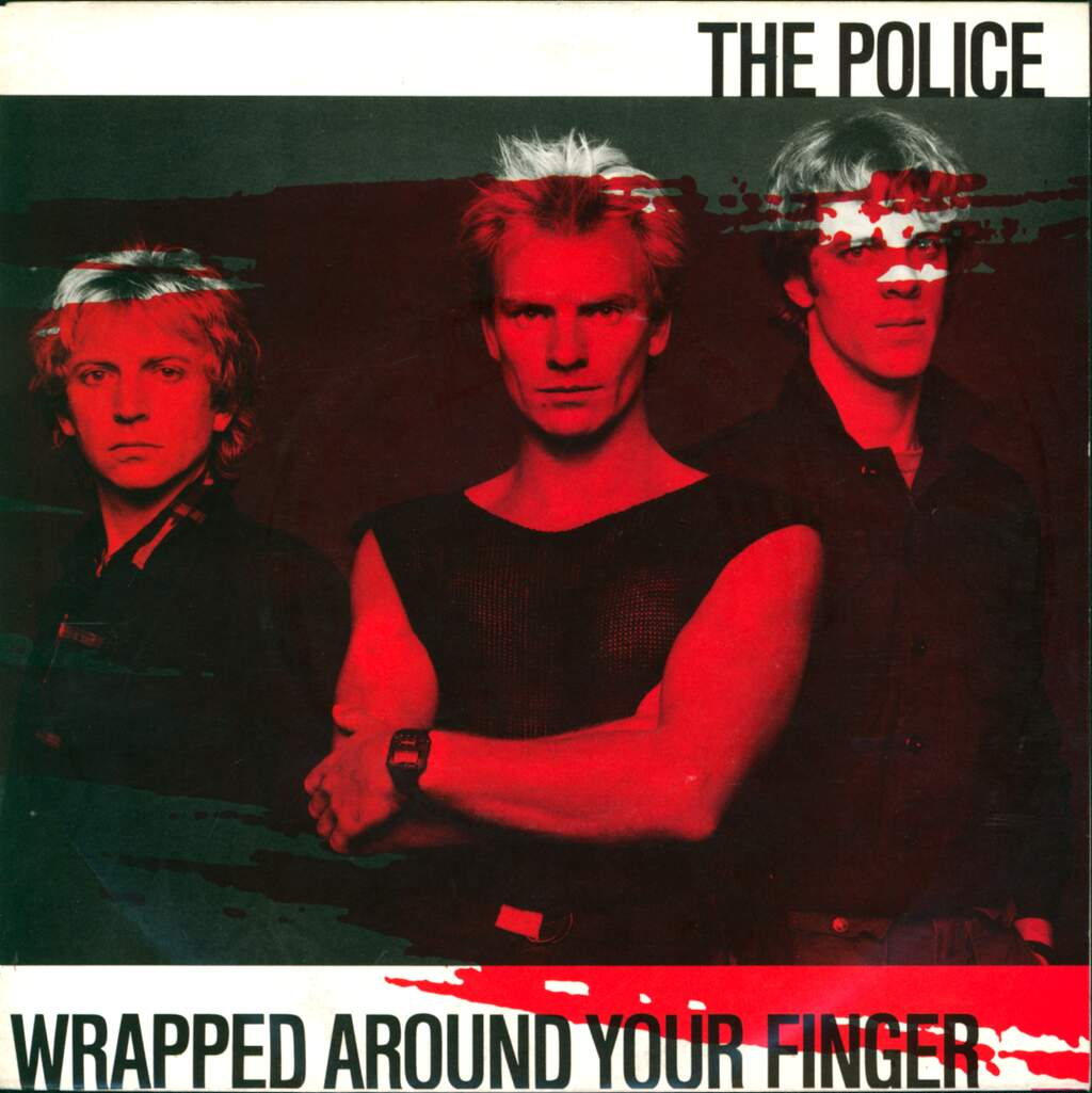 """The Police: Wrapped Around Your Finger, 7"""" Single (Vinyl)"""