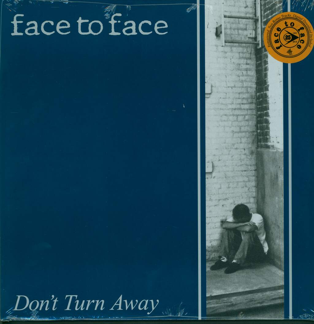 Face To Face: Don't Turn Away, LP (Vinyl)