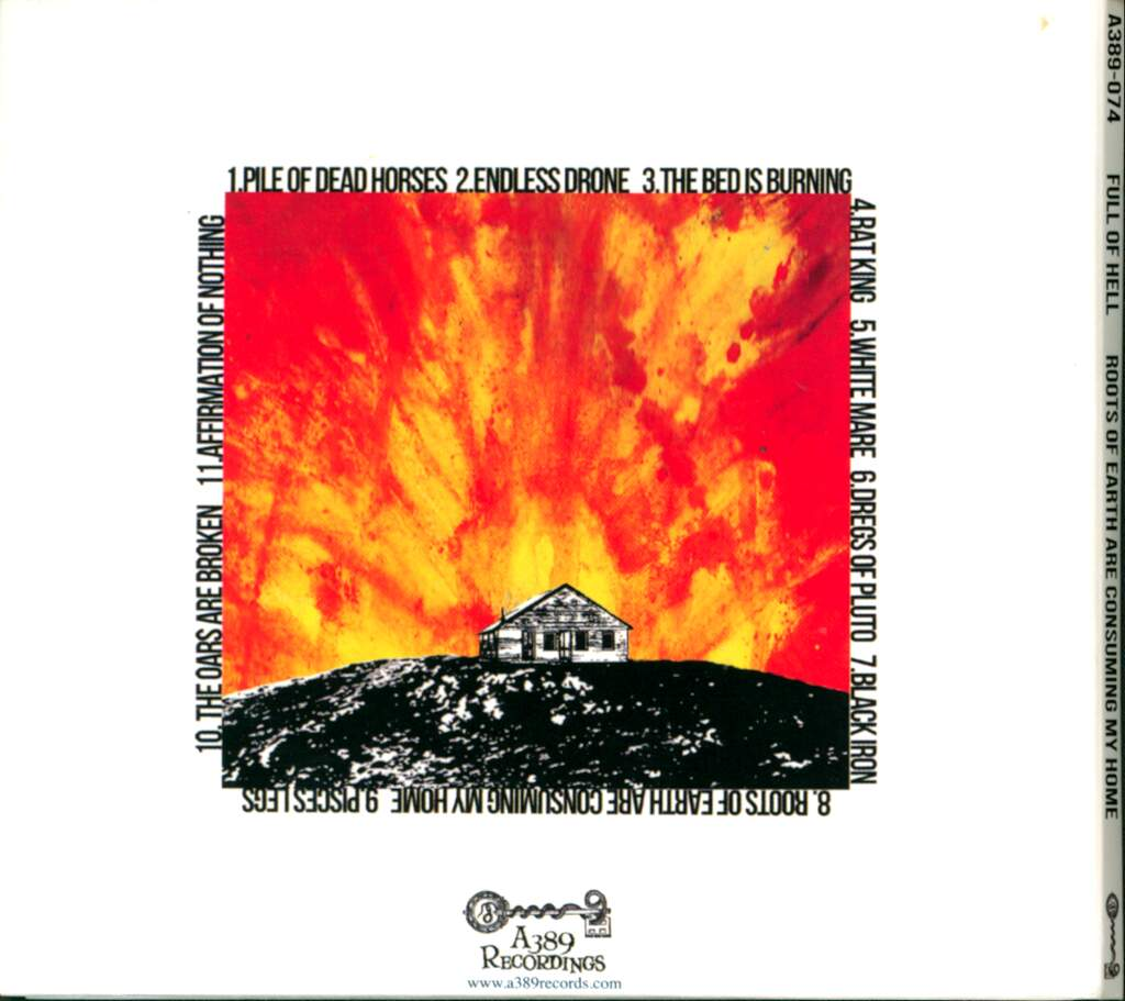Full Of Hell: Roots Of Earth Are Consuming My Home, CD