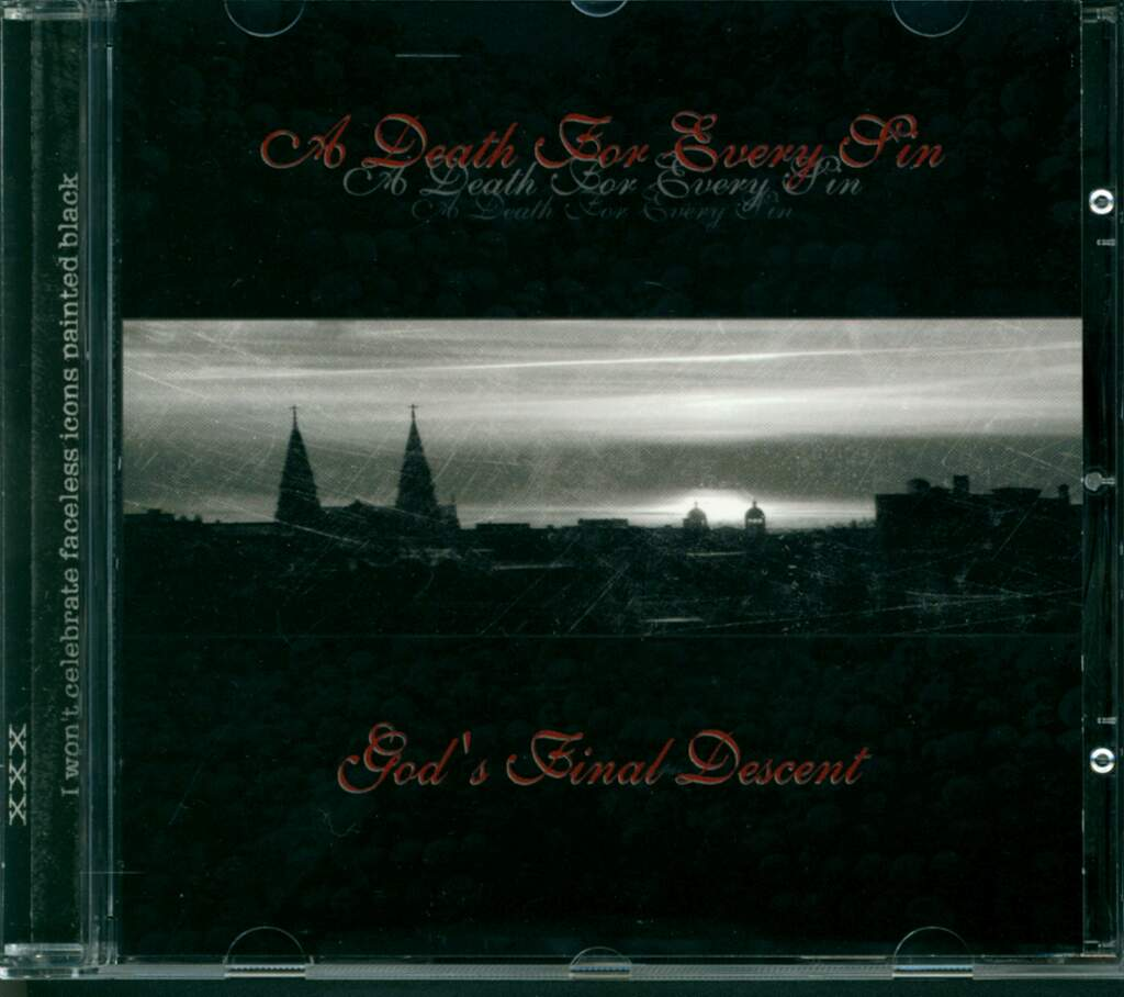 A Death For Every Sin: God's Final Descent, Mini CD