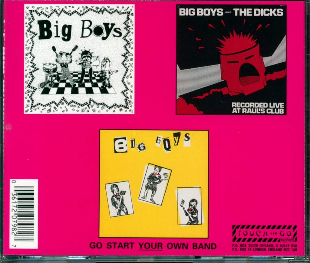 Big Boys: The Skinny Elvis, CD