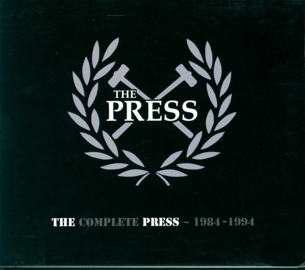 The Press: The Complete Press 1984-1994, CD