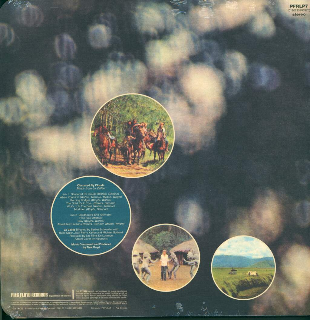 Pink Floyd: Obscured By Clouds (Music From La Vallée), LP (Vinyl)