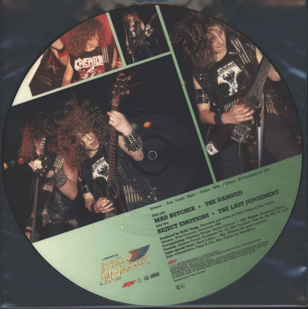 "Destruction: Mad Butcher, 12"" Maxi Single (Vinyl)"