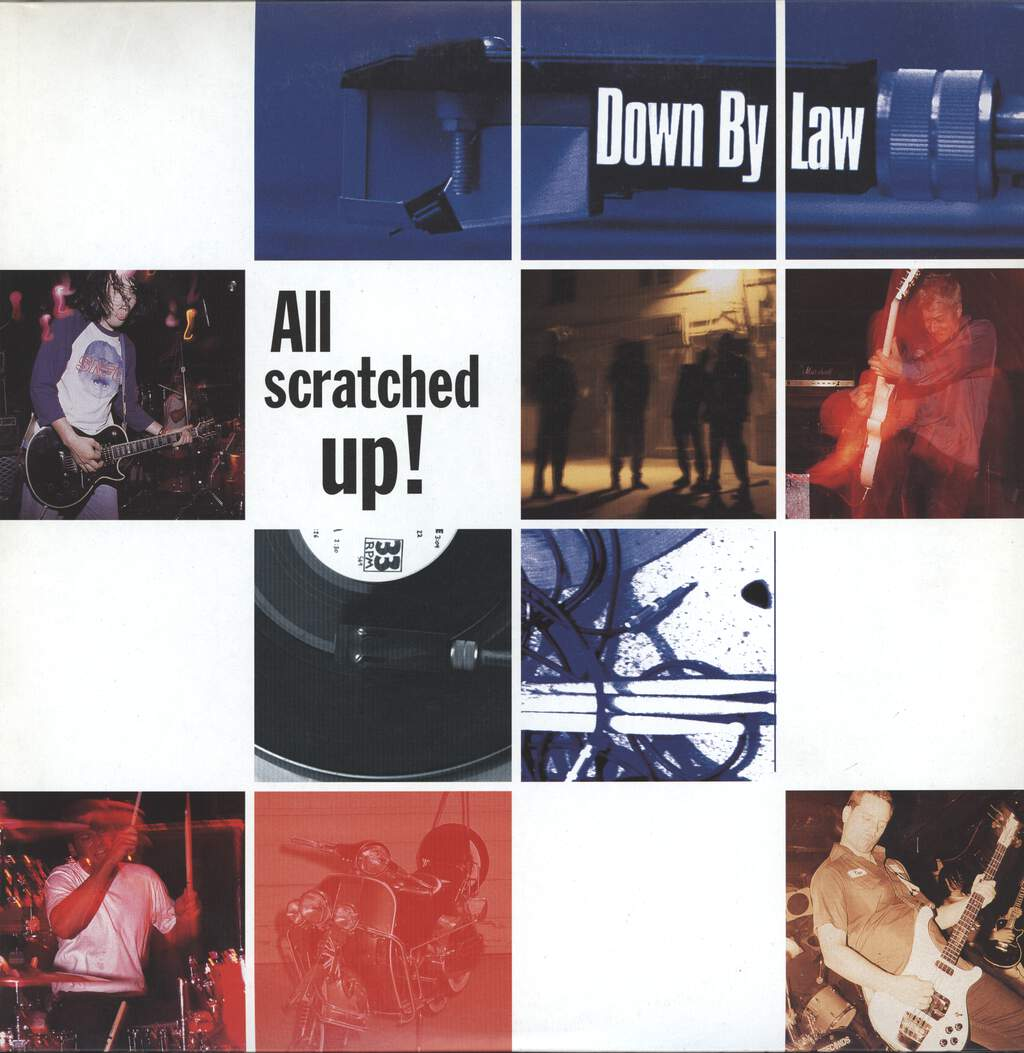 Down By Law: All Scratched Up!, LP (Vinyl)