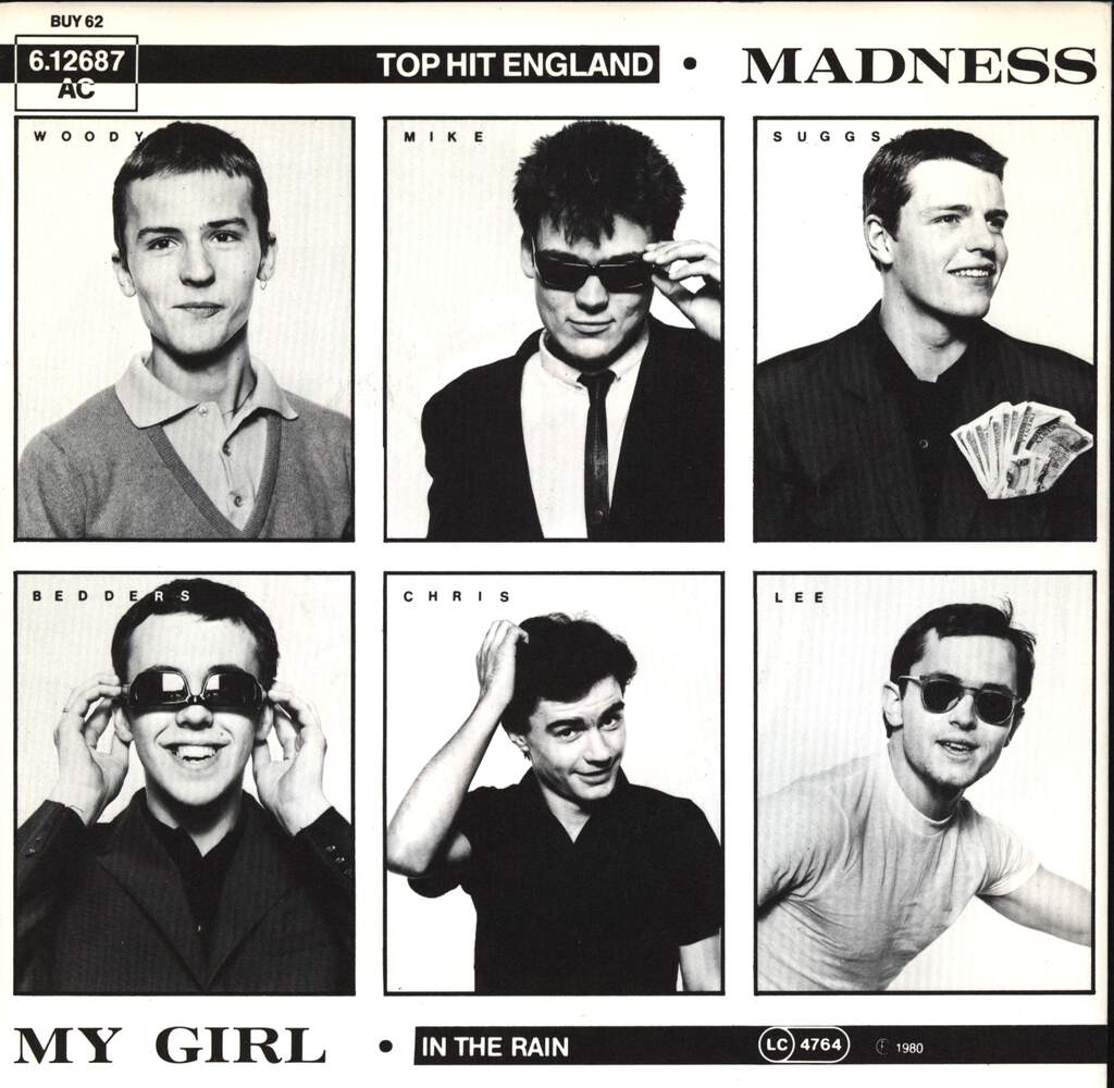 "Madness: My Girl, 7"" Single (Vinyl)"