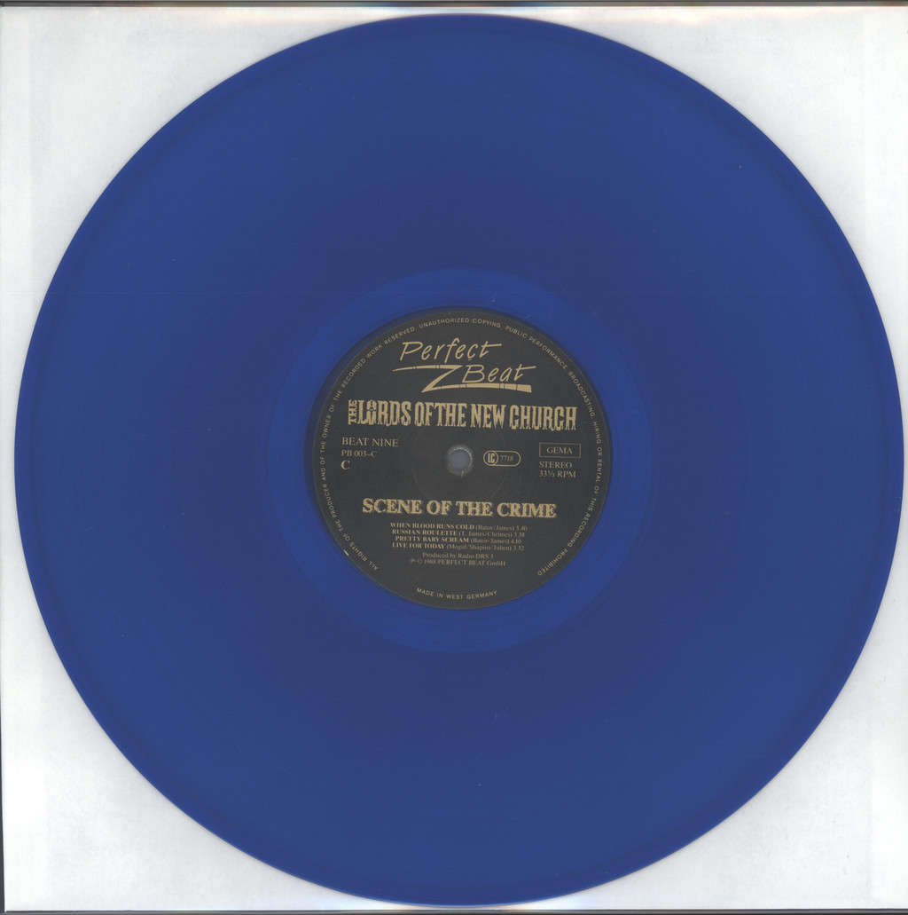 Lords Of the New Church: Scene Of The Crime, 3×LP (Vinyl)