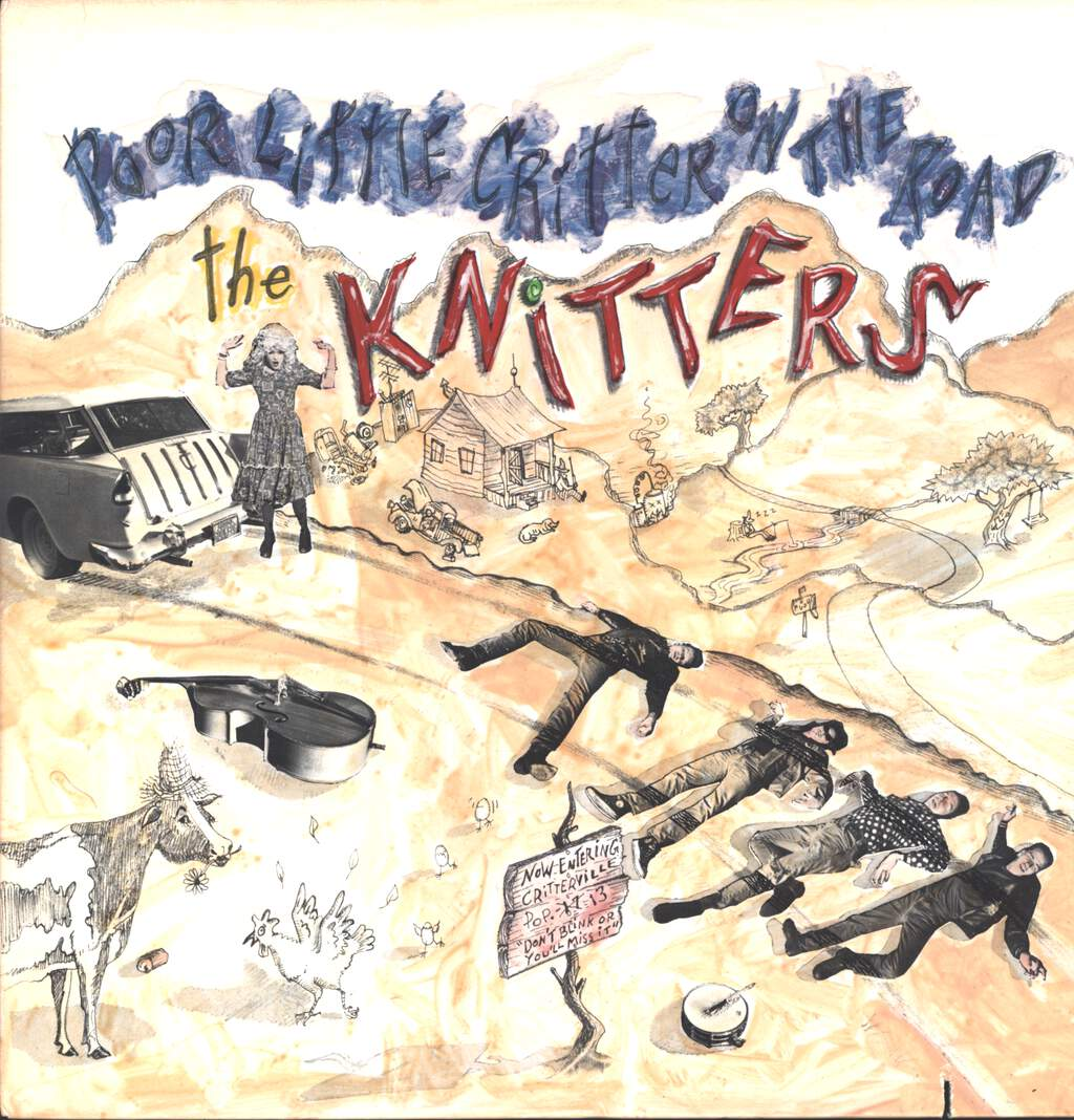The Knitters: Poor Little Critter On The Road, LP (Vinyl)