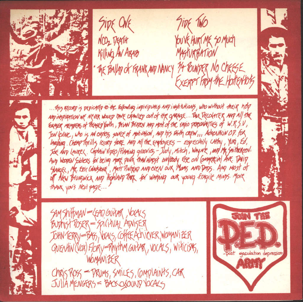 "P. E. D.: Xerox For Yugoslavia, 7"" Single (Vinyl)"