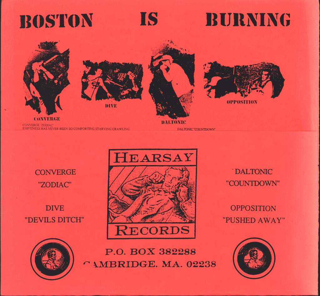 "Various: Boston Is Burning - Fueling The Fire, 7"" Single (Vinyl)"
