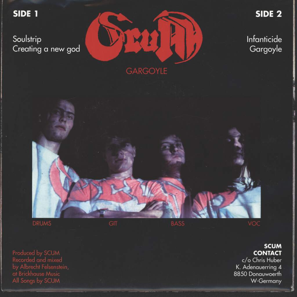 "Scum: Gargoyle, 7"" Single (Vinyl)"