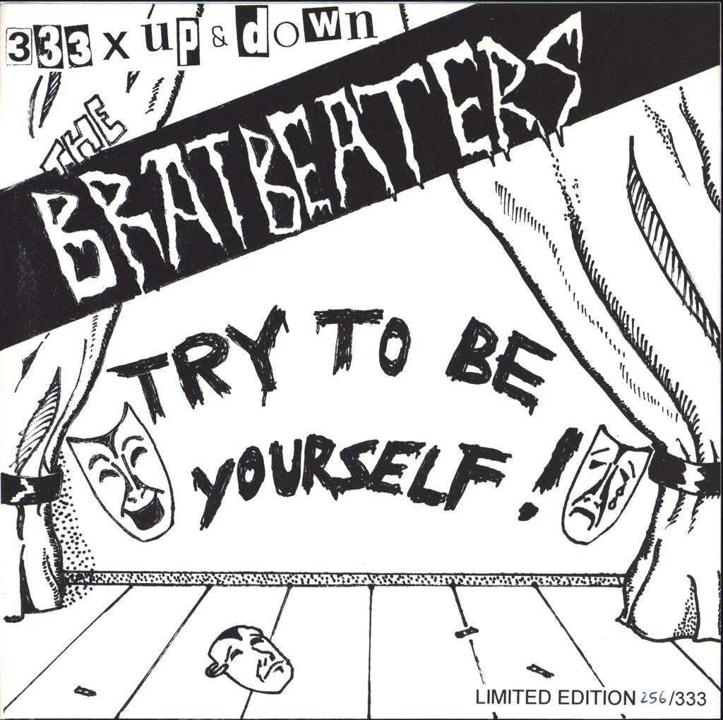 "The Bratbeaters: Try To Be Yourself, 7"" Single (Vinyl)"