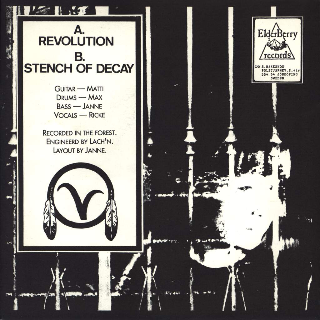 "Dom Där: Revolution / Stench Of Decay!, 7"" Single (Vinyl)"