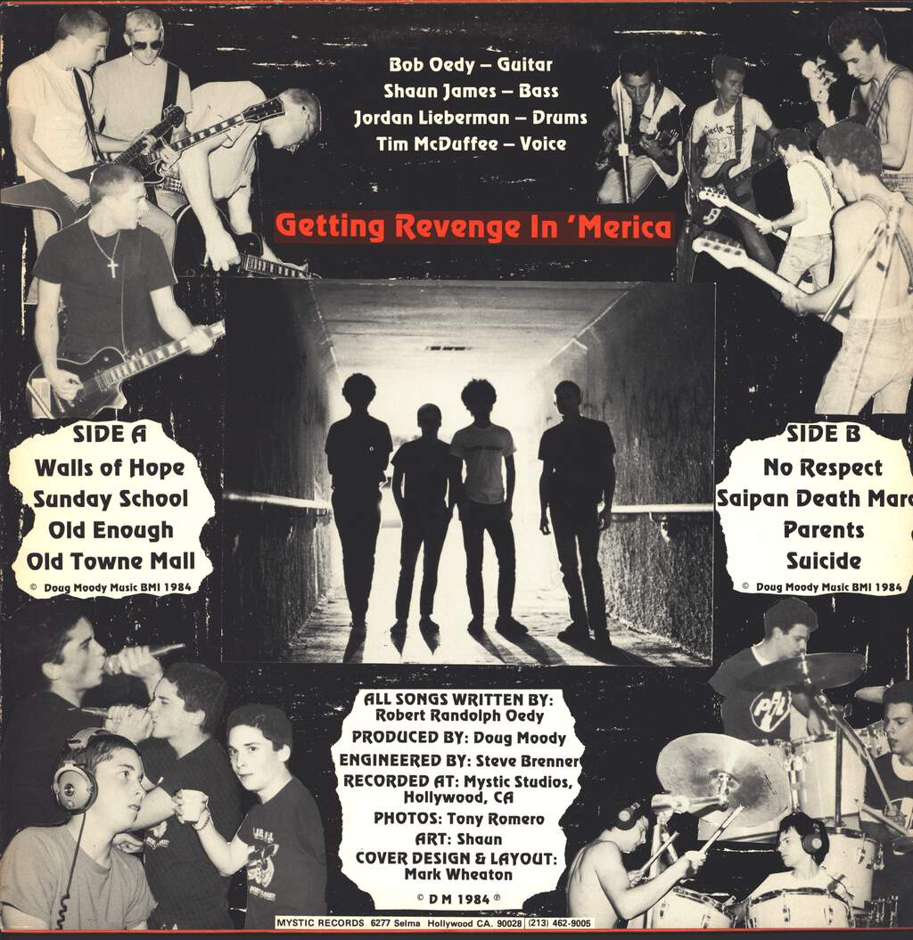 The Grim: Getting Revenge In 'Merica, LP (Vinyl)