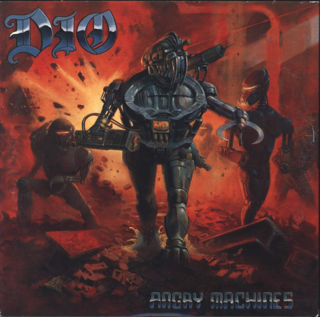 Dio: Angry Machines, CD