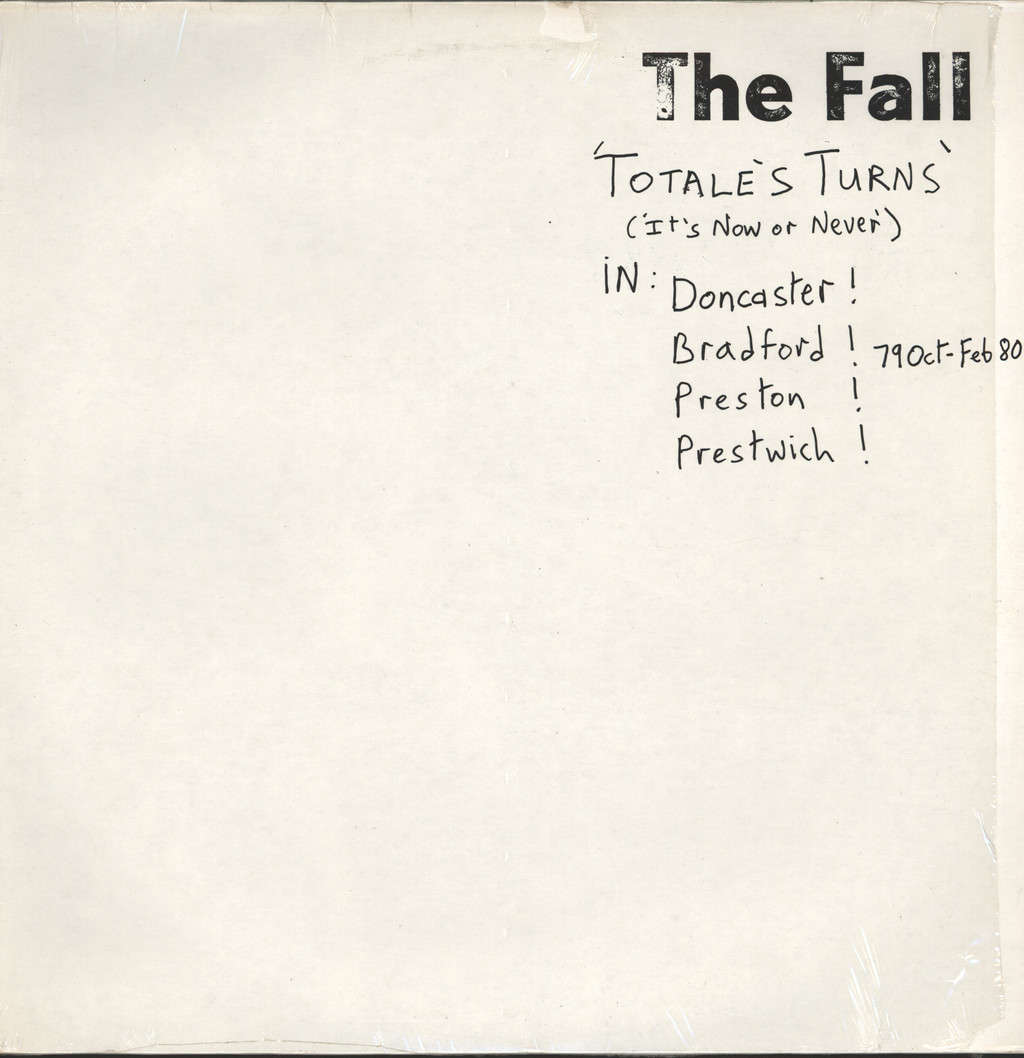Fall: Totale's Turns (It's Now Or Never), LP (Vinyl)