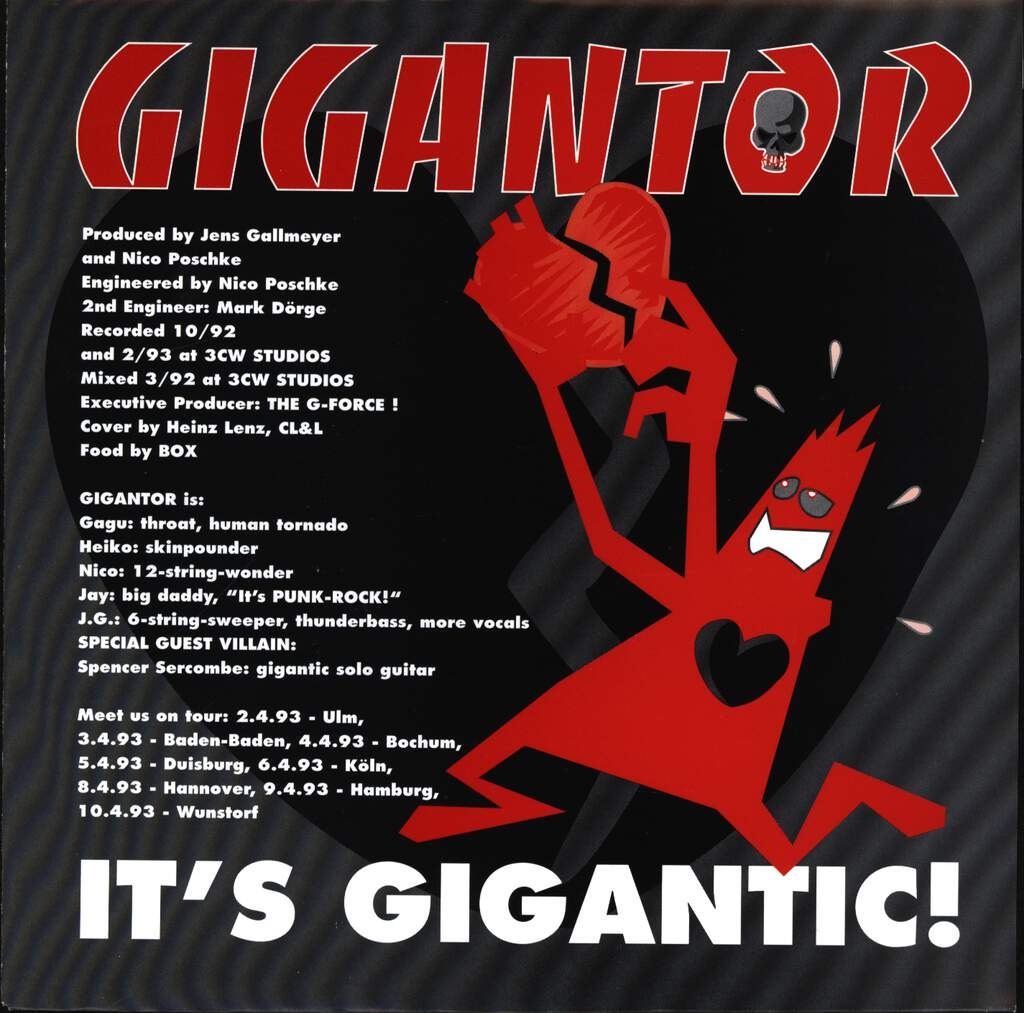 "Gigantor: It's Gigantic / It's Not Enough, 7"" Single (Vinyl)"