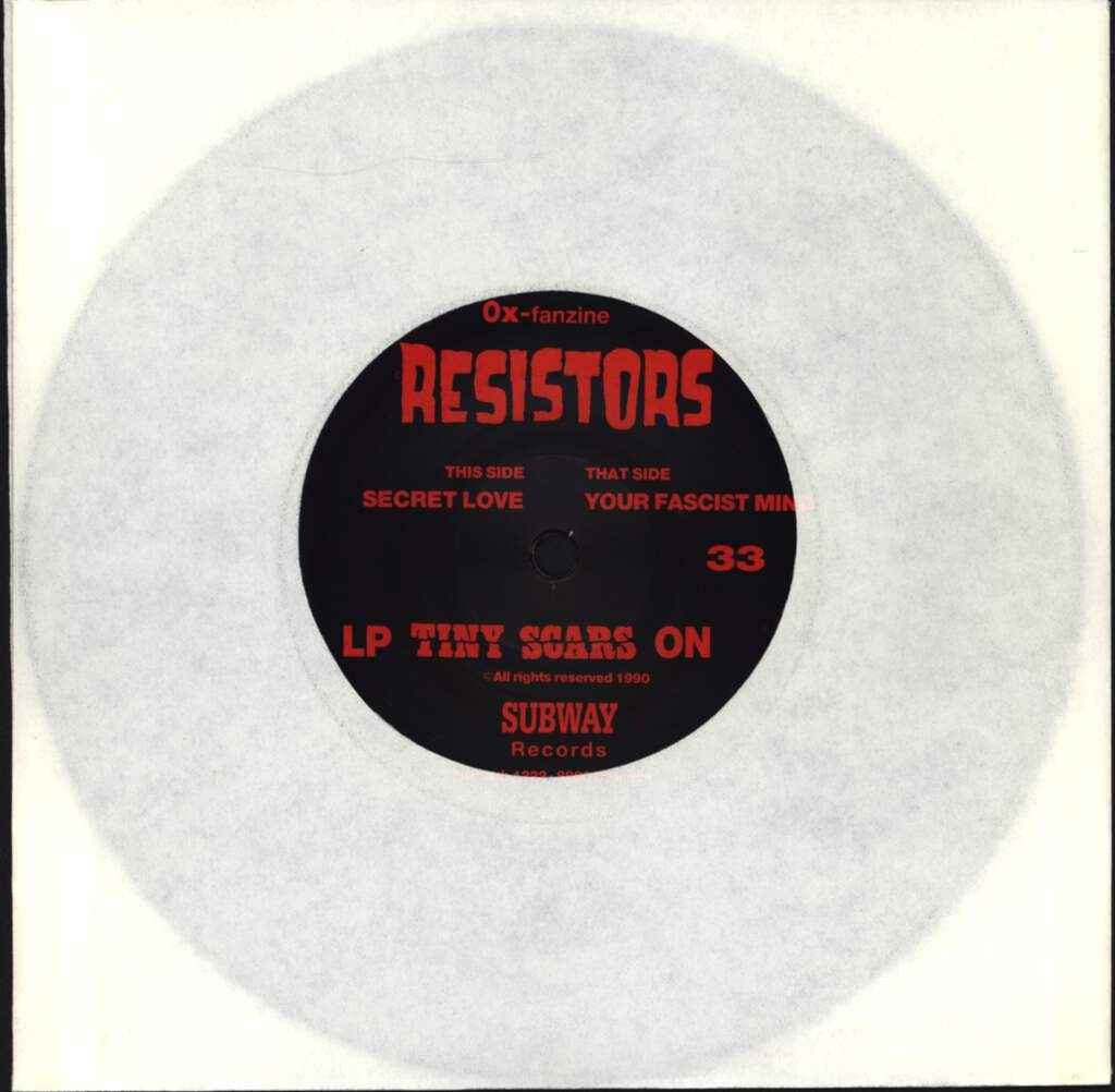 "Resistors: Your Fascist Mind / Secret Love, 7"" Single (Vinyl)"