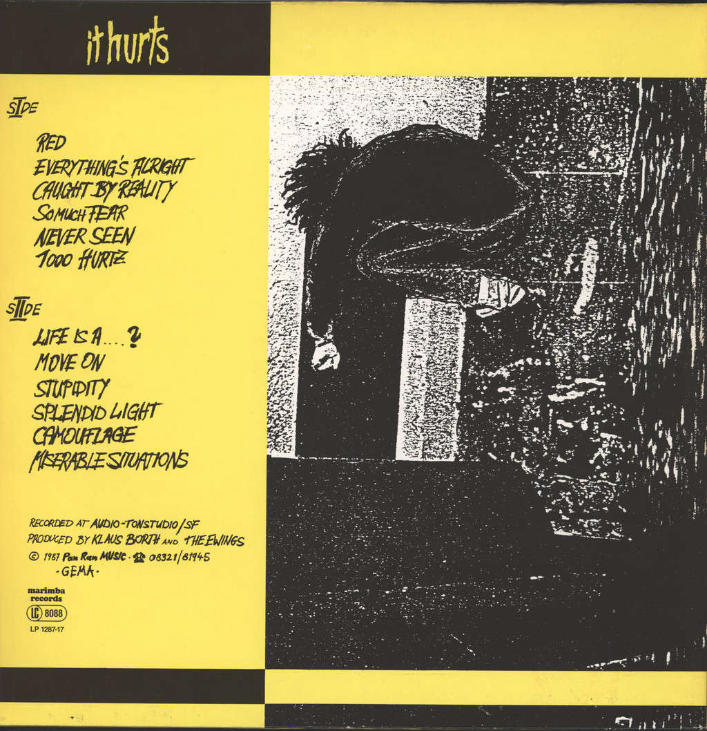 Ewings: It Hurts, LP (Vinyl)