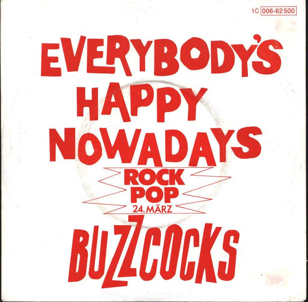 "Buzzcocks: Everybody's Happy Nowadays, 7"" Single (Vinyl)"