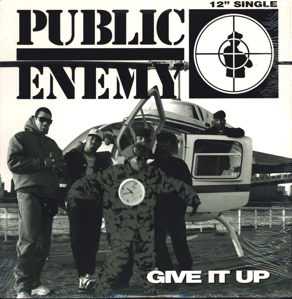 "Public Enemy: Give It Up, 12"" Maxi Single (Vinyl)"