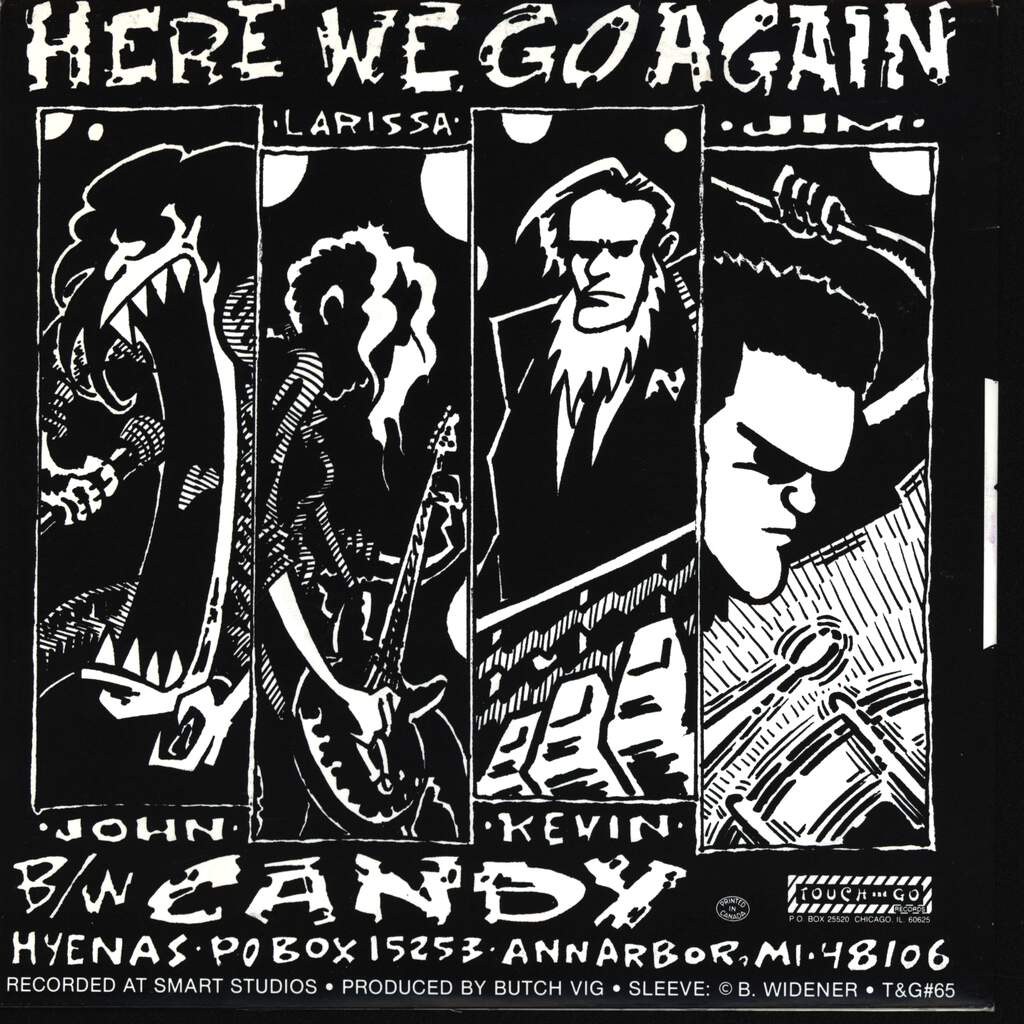 "Laughing Hyenas: Here We Go Again, 7"" Single (Vinyl)"