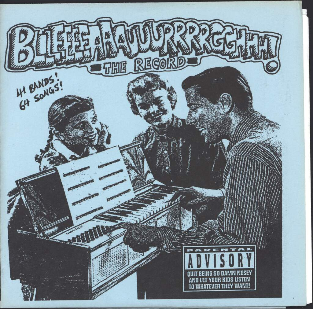 "Various: Bllleeeeaaauuurrrrgghhh! - The Record, 7"" Single (Vinyl)"